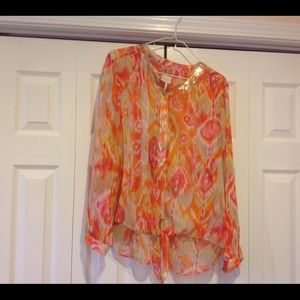 Chico's Ikat top size 2 (12)